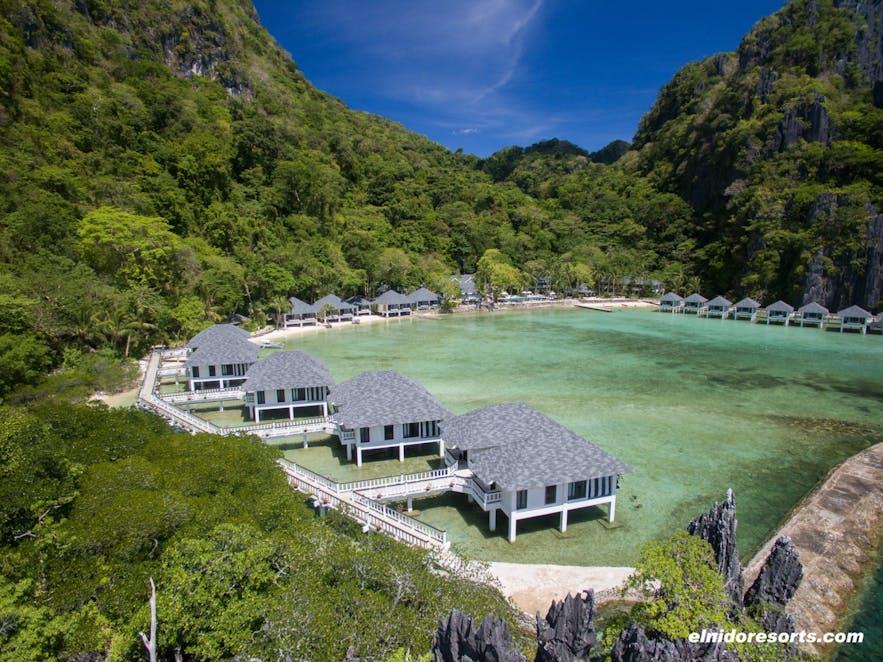 Lagen Island's sea villas