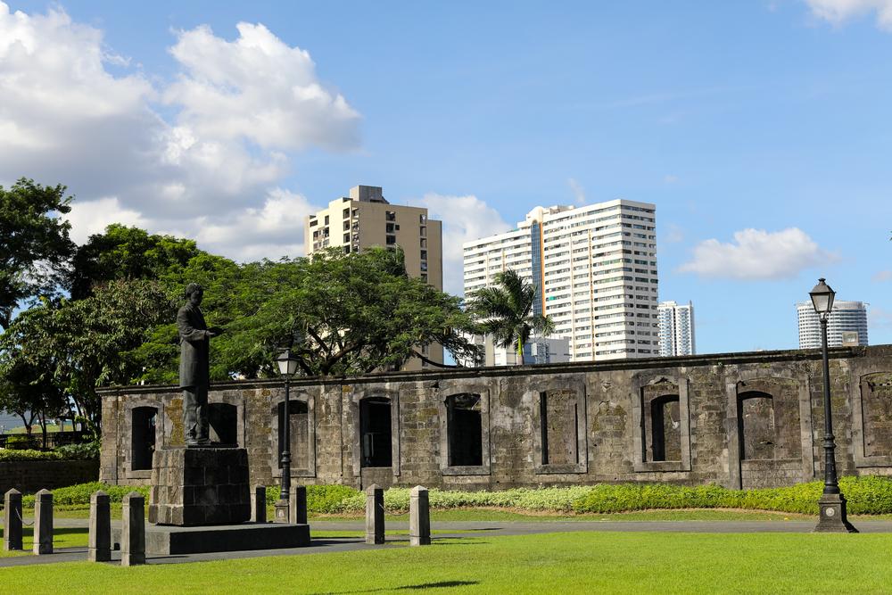 Inside the Fort Santiago in Intramuros
