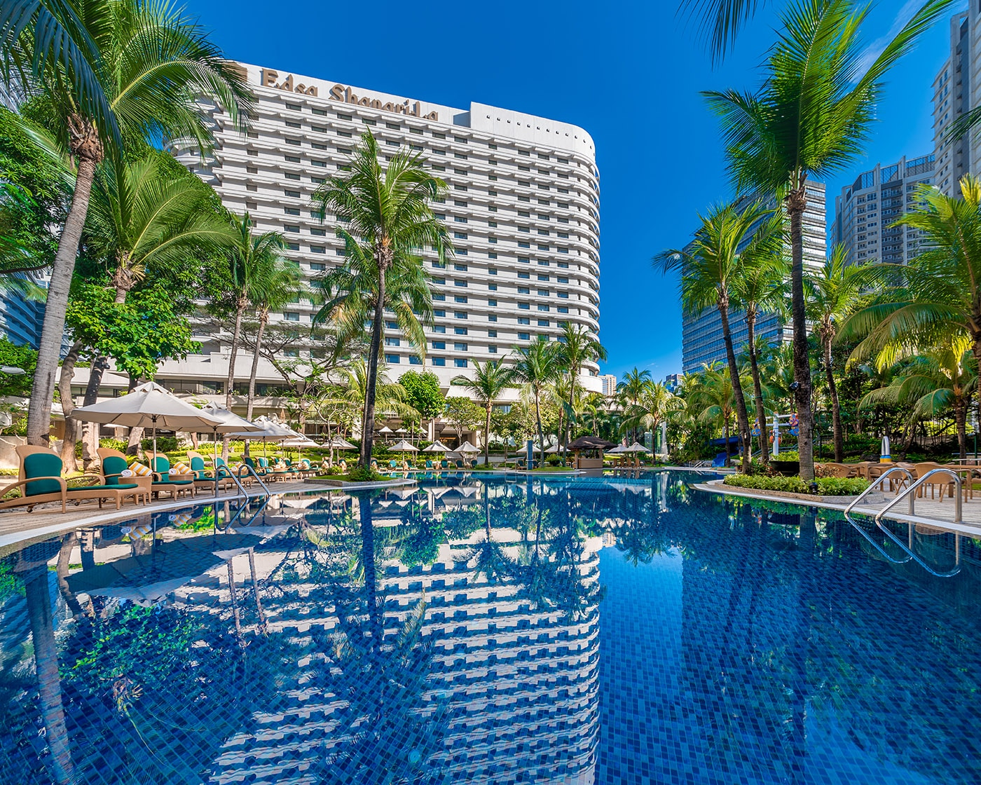 Check out of EDSA Shangri-la Hotel