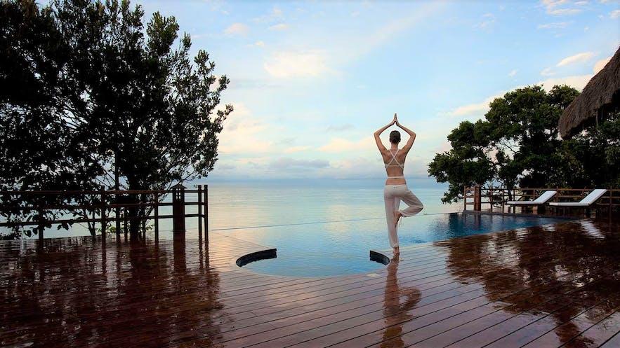 Poolside of Eskaya Beach Resort and Spa