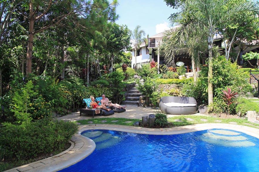 Poolside of Nurture Wellness Village