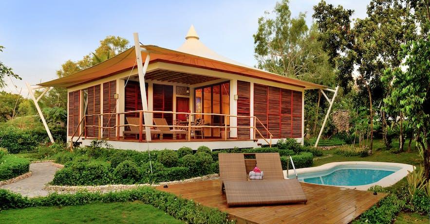 A pool villa in Donatela Resort and Sanctuary