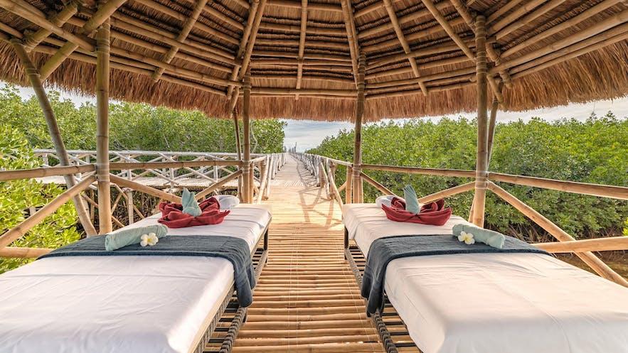 A spa pavillion in North Zen Villas