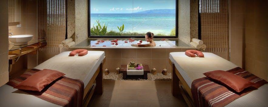 Spa room in Mithi Resort & Spa