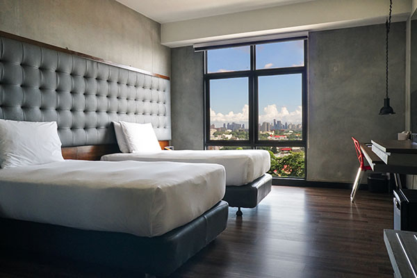 Check out of your room in B Hotel