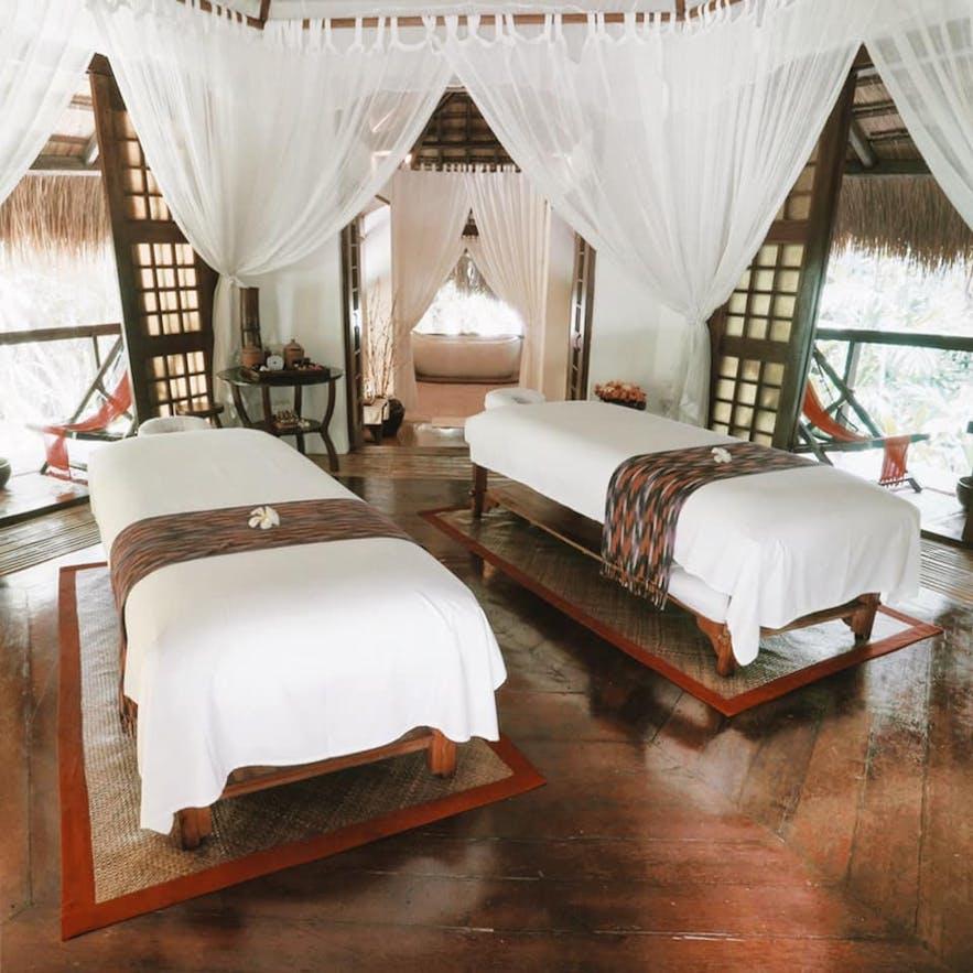 Mandala Spa and Resort Villas' massage area