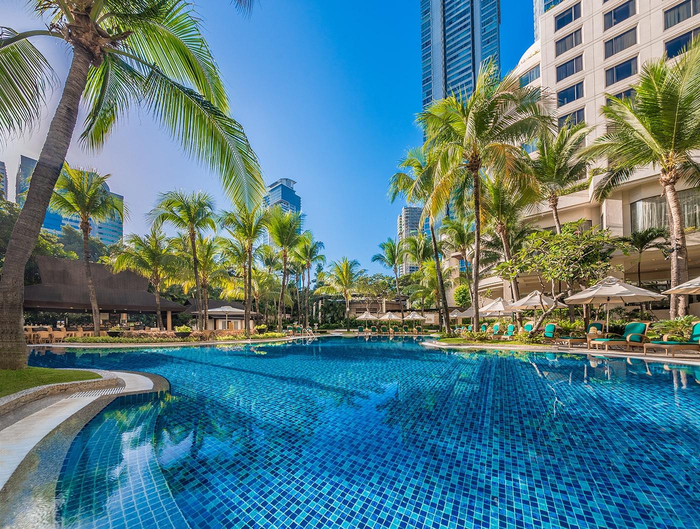 Check out of Shangri-La EDSA Hotel