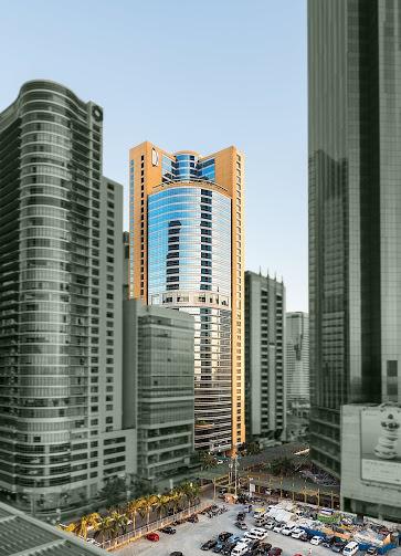 Facade of Discovery Suites Manila