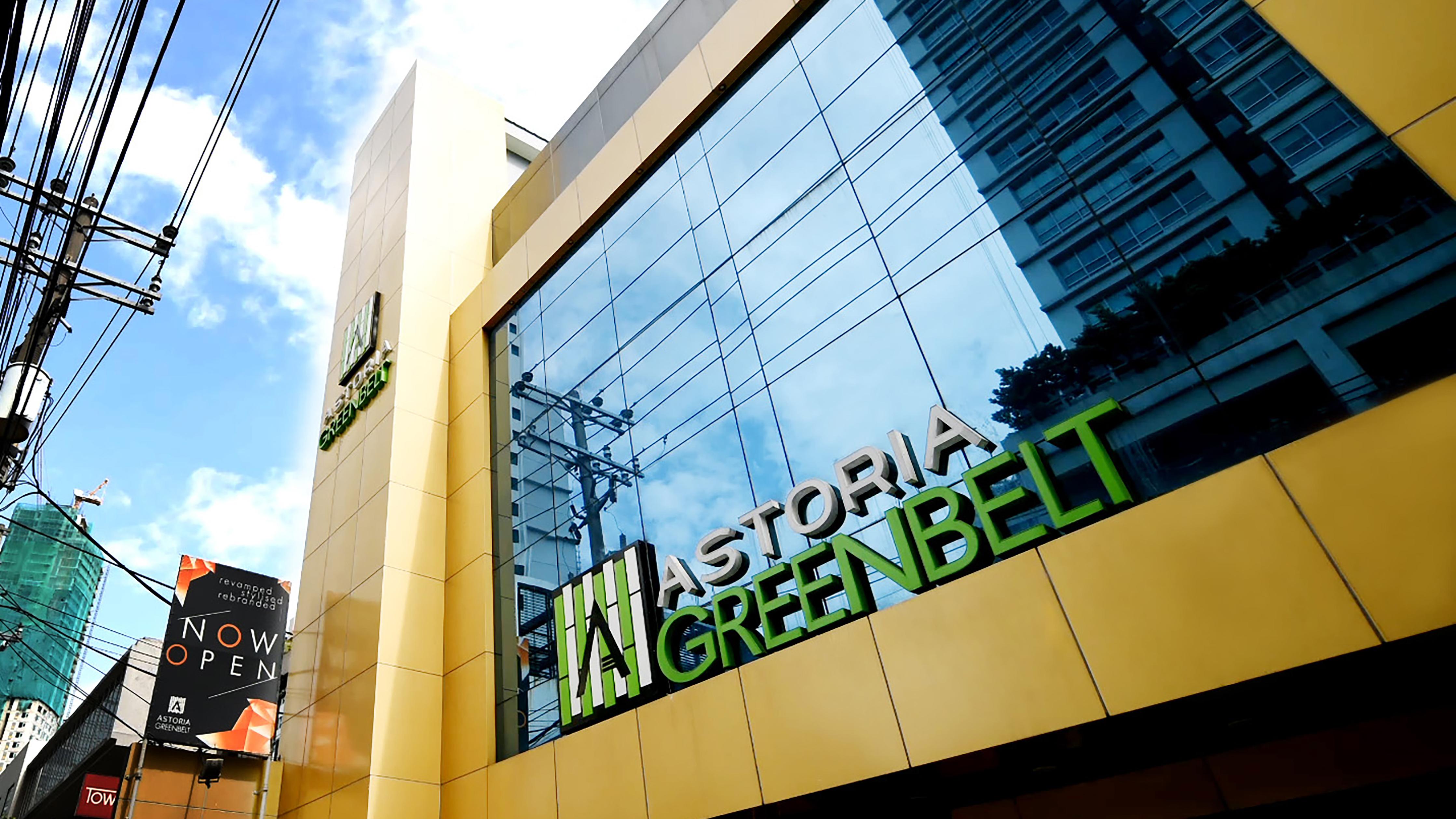 Facade of Astoria Greenbelt in Makati