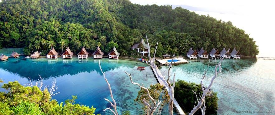 Aerial view of Club Tara Resort