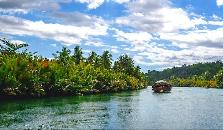 Peaceful environment at the Loboc River in Bohol