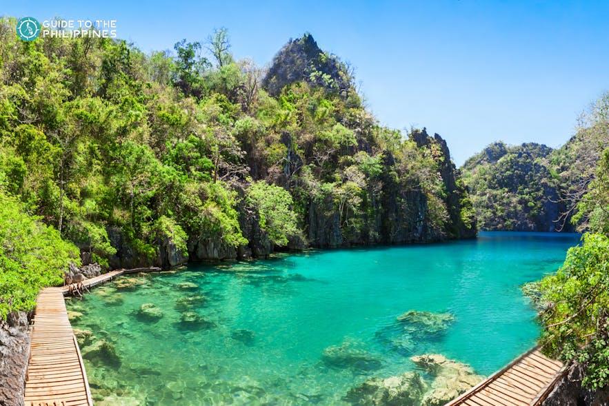 Small Lagoon in El Nido