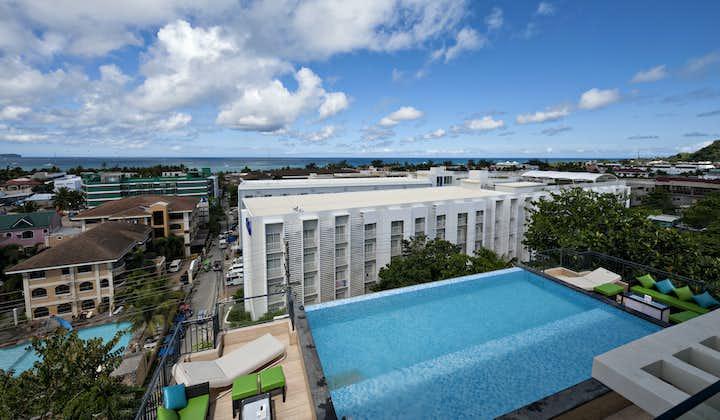 Daytime Facade of LIME Hotel Boracay