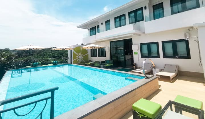 Pool view of LIME Hotel Boracay located at the Rooftop