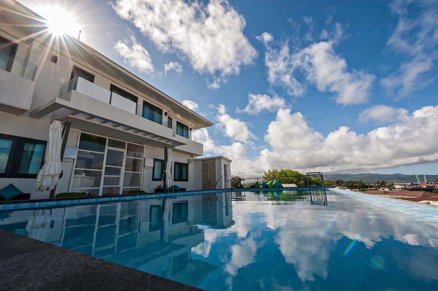 Lime Hotel Boracay's poolside