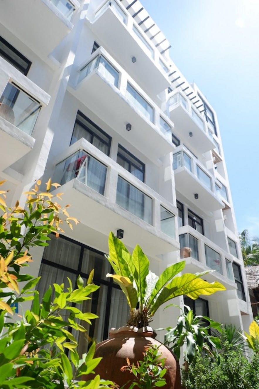 Facade of Luxx Boutique Boracay