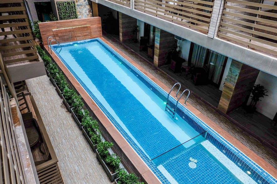 The Piccolo Hotel of Boracay's pool area