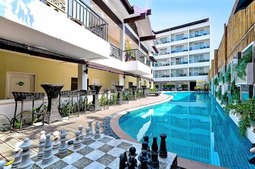 Boracay Haven Resort's poolside