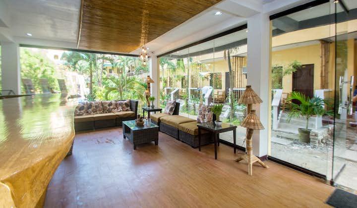 Lobby of Bamboo Beach Boracay