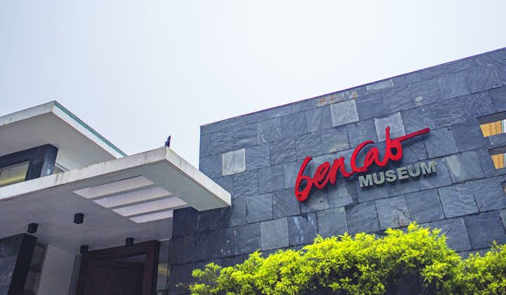 Facade of BenCab museum in Baguio City