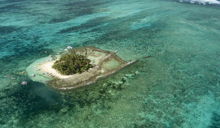 Aerial view of Guyam Island