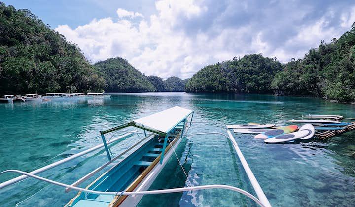Island hopping at Siargao to Sugba Lagoon