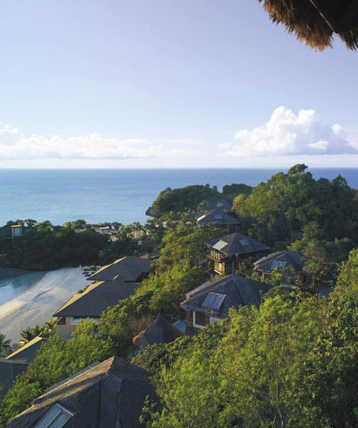 View from Shangri-La Boracay Resort & Spa Tree House Villas