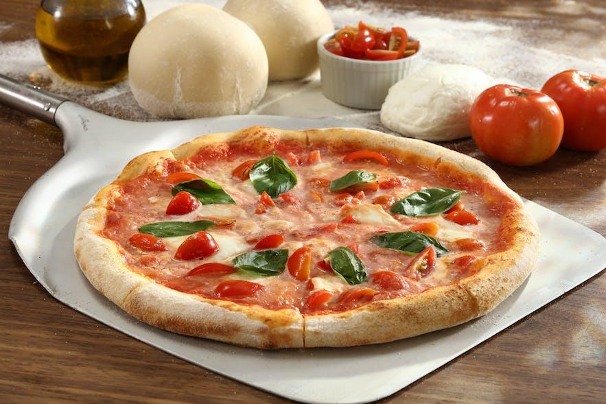 Aria Cucina Italiana's buffalina pizza