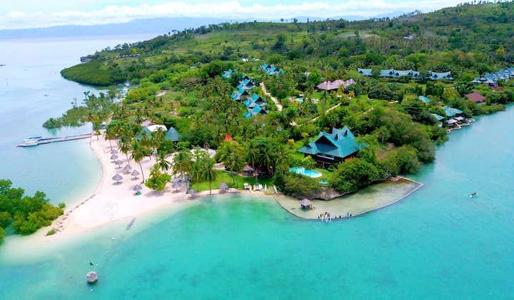 Aerial View of Badian Island Wellness Resort