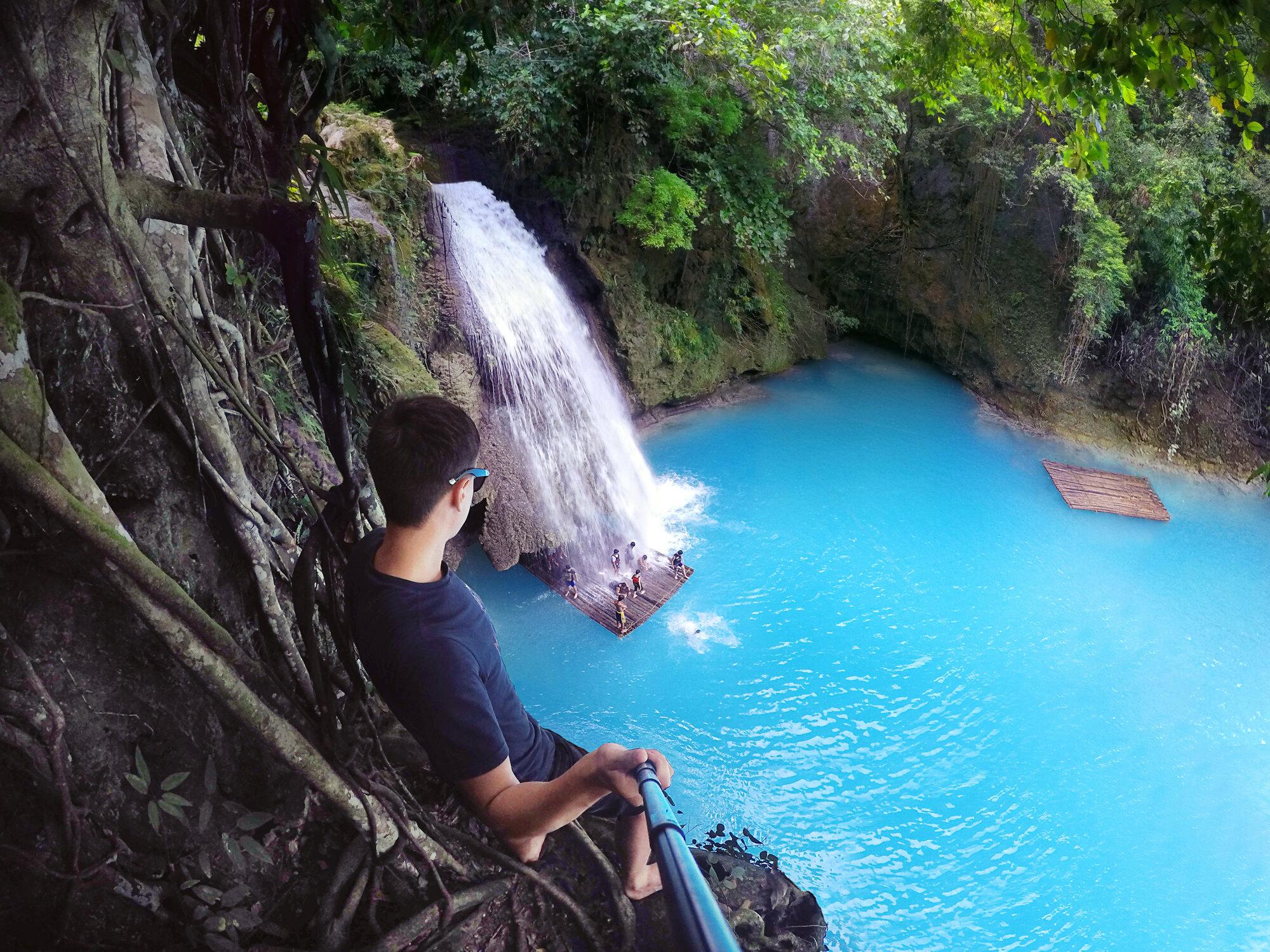 Canyoneering at Kawasan Falls, Badian, Cebu