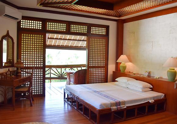 Interior of Junior Suite at Badian Island Wellness Resort