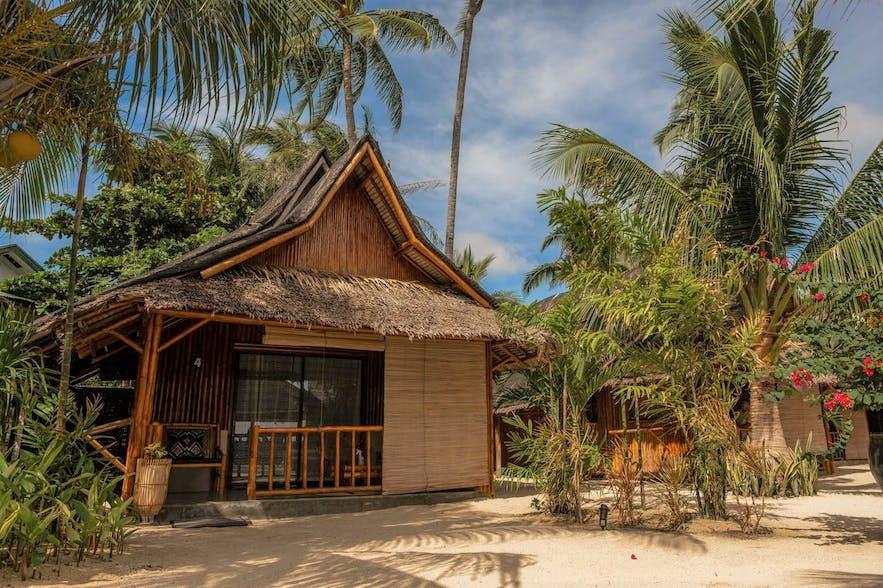 A cabana in Amihan Beach Cabanas Resort