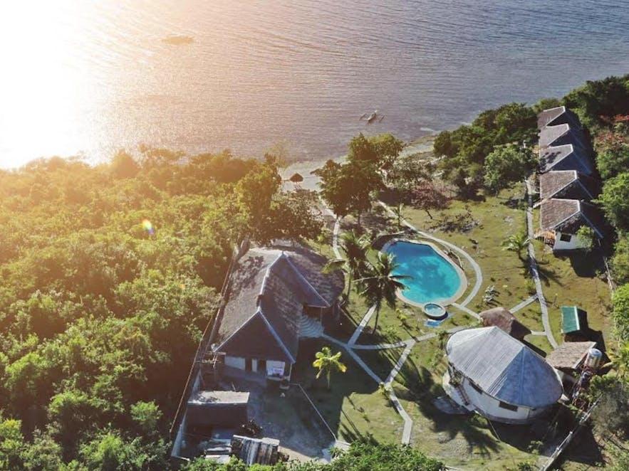 Aerial view of Cuestas Beach Resort