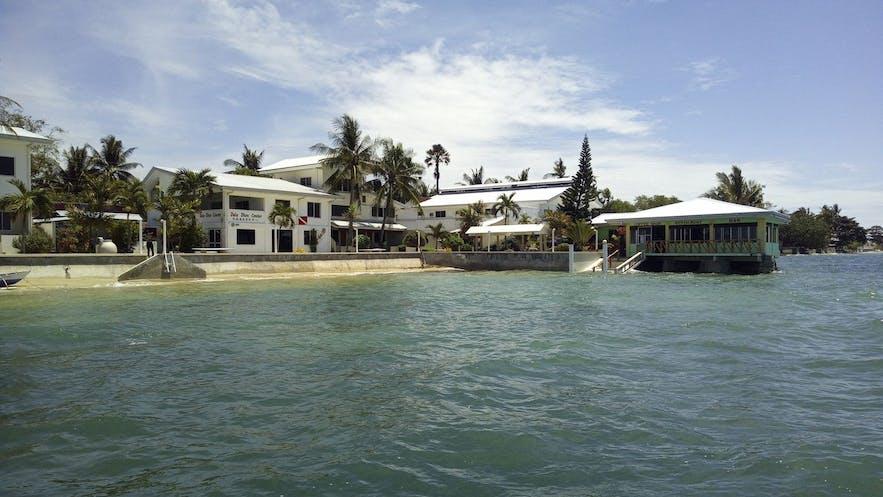 Exterior of Ocean Bay Beach Resort