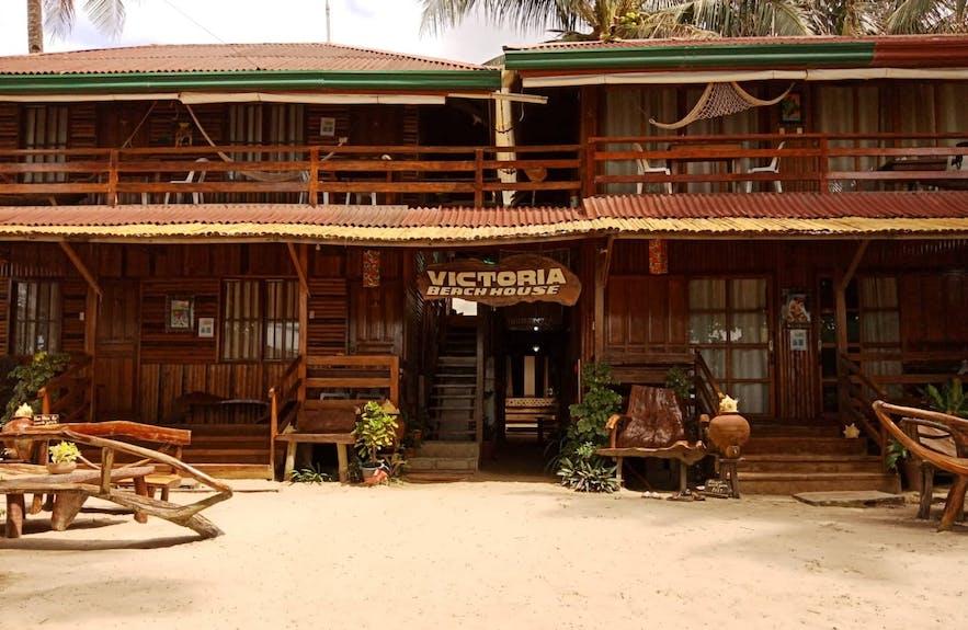 Exterior of Victoria Beach House