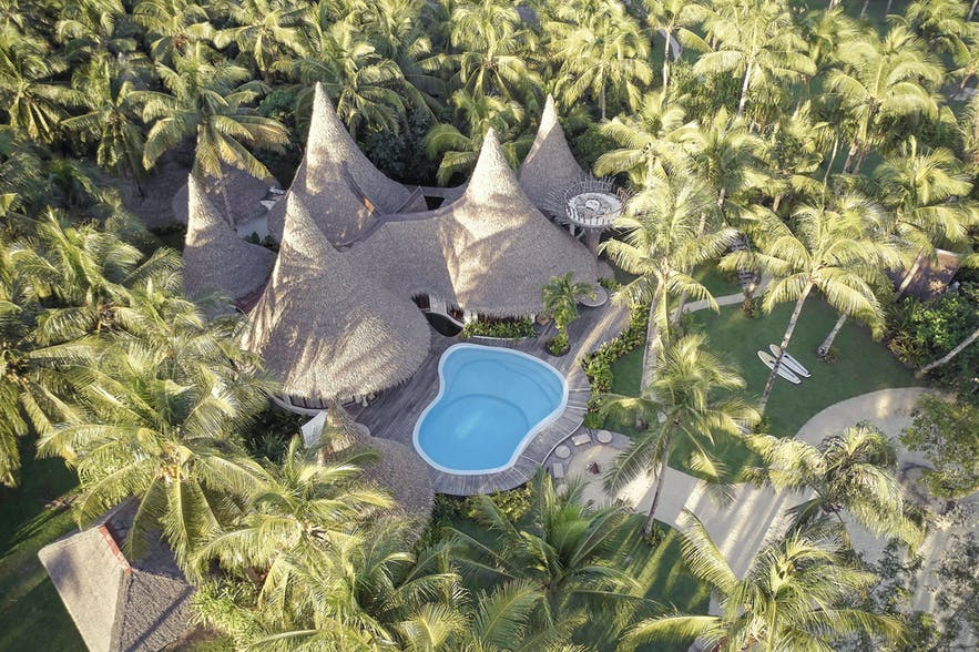 Aerial view of Nay Palad Hideaway
