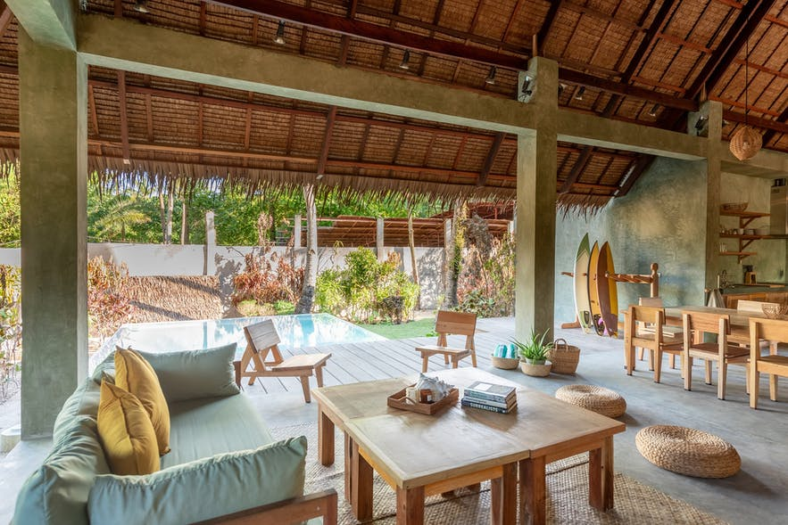 Bravo Beach Resort's lounge area