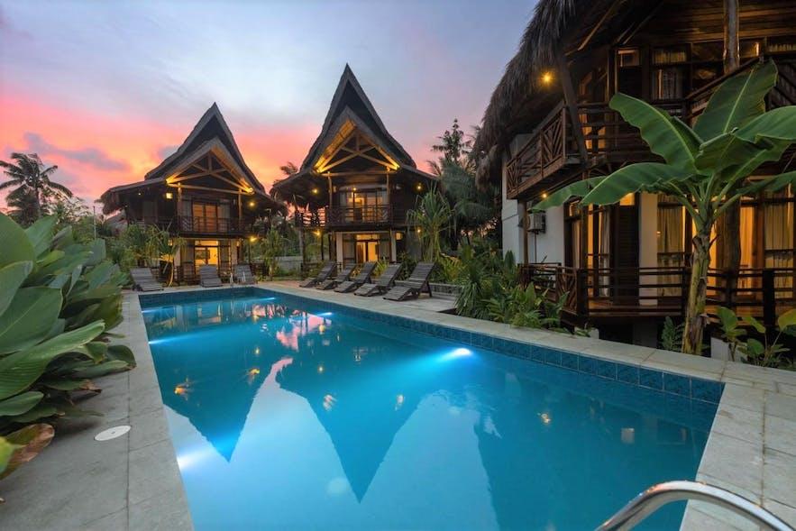 Poolside of Bulan Villas