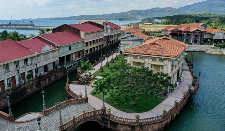 Aerial view of Las Casas Filipinas de Acuzar in Bataan