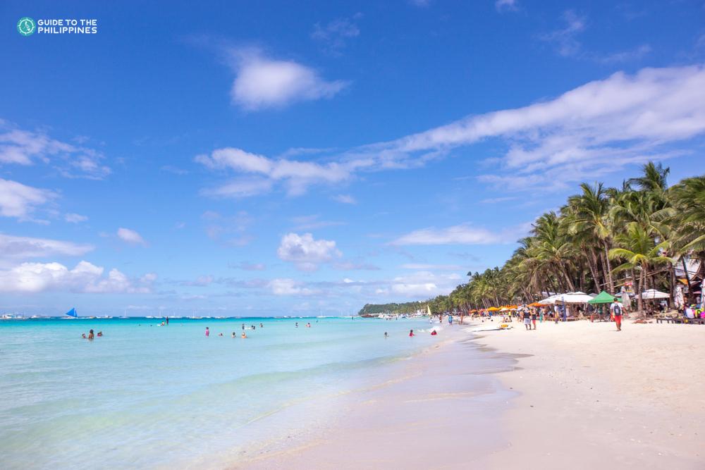 White Beach of Boracay Island