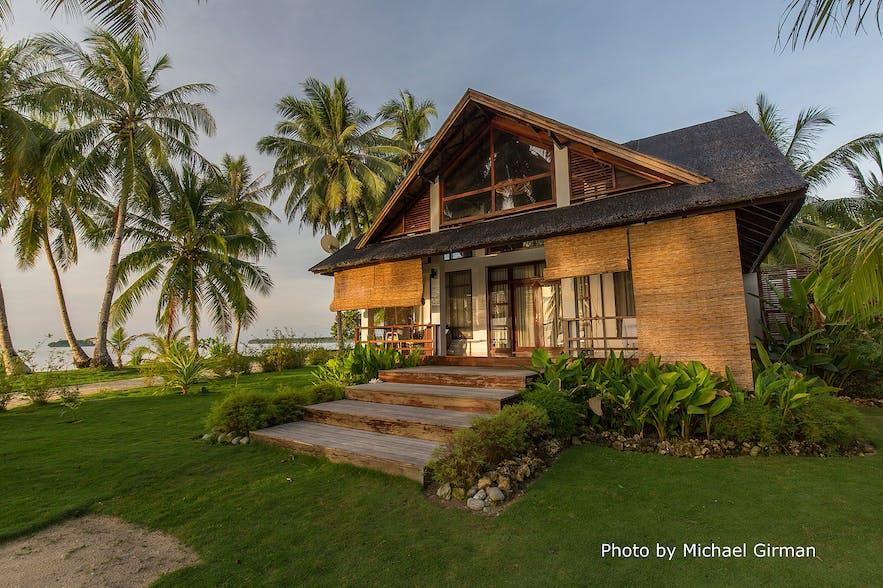 Beachside villa in Sandy Feet Siargao