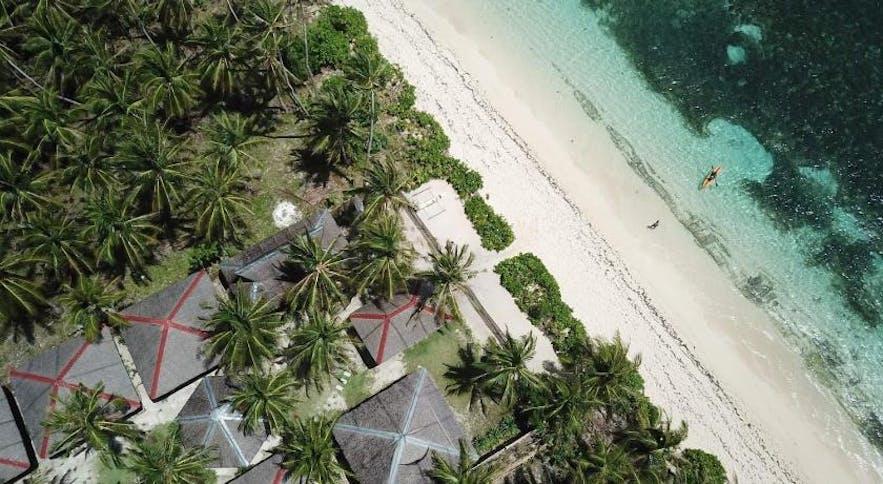 Aerial view of DaRosa Del Mar Beach Resort