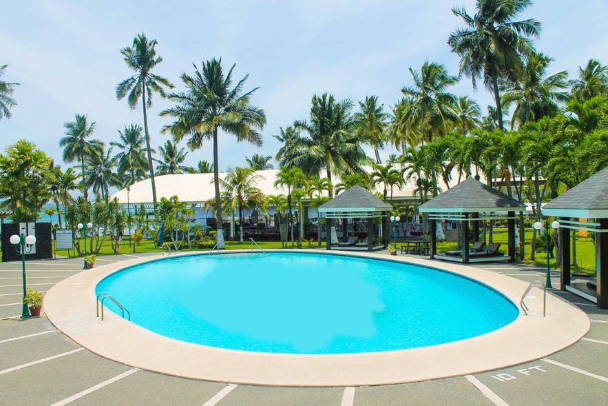 Waterfront Insular Hotel Davao's outdoor pool