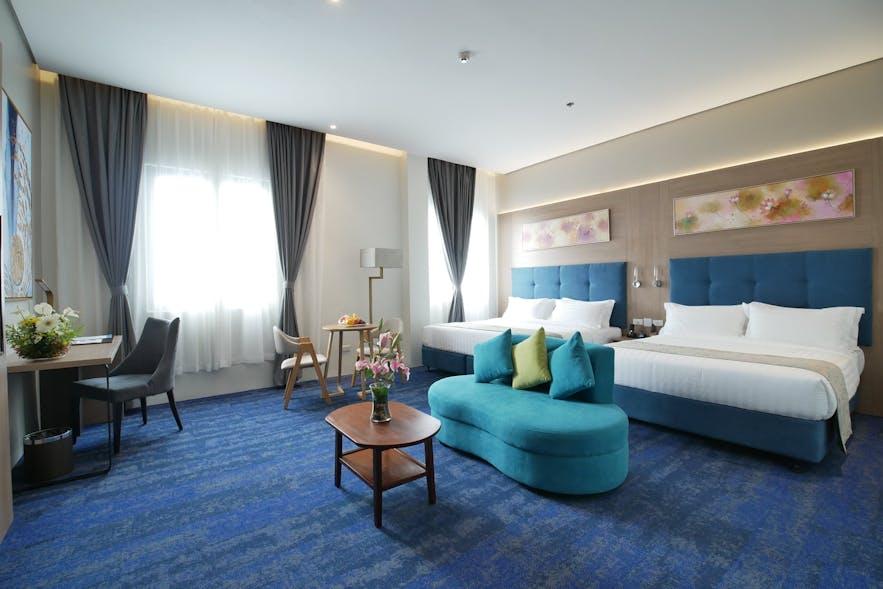 Blue Lotus Hotel's junior suite