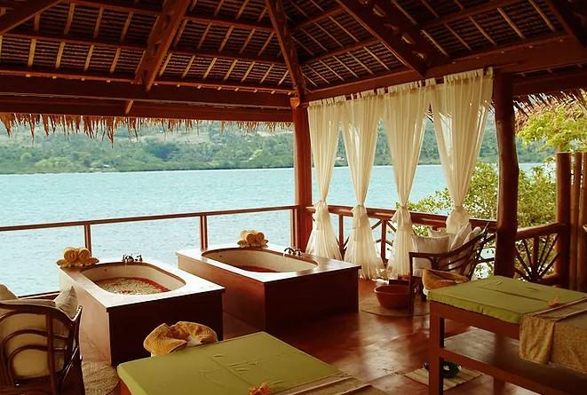 Spa at Badian Island Wellness Resort