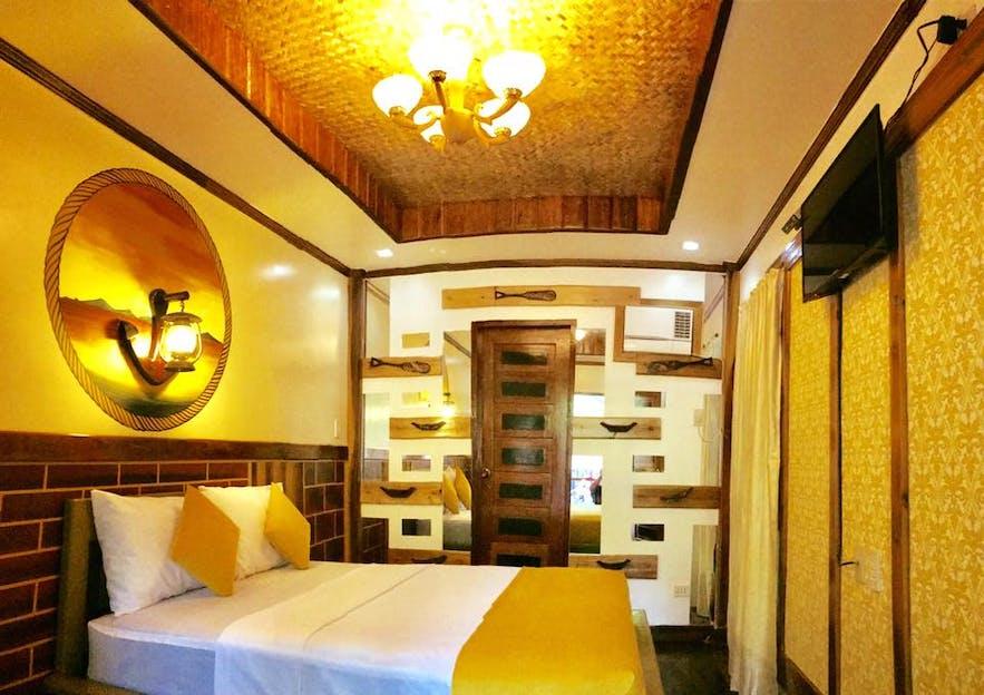 Forest Wood Suites' wood room