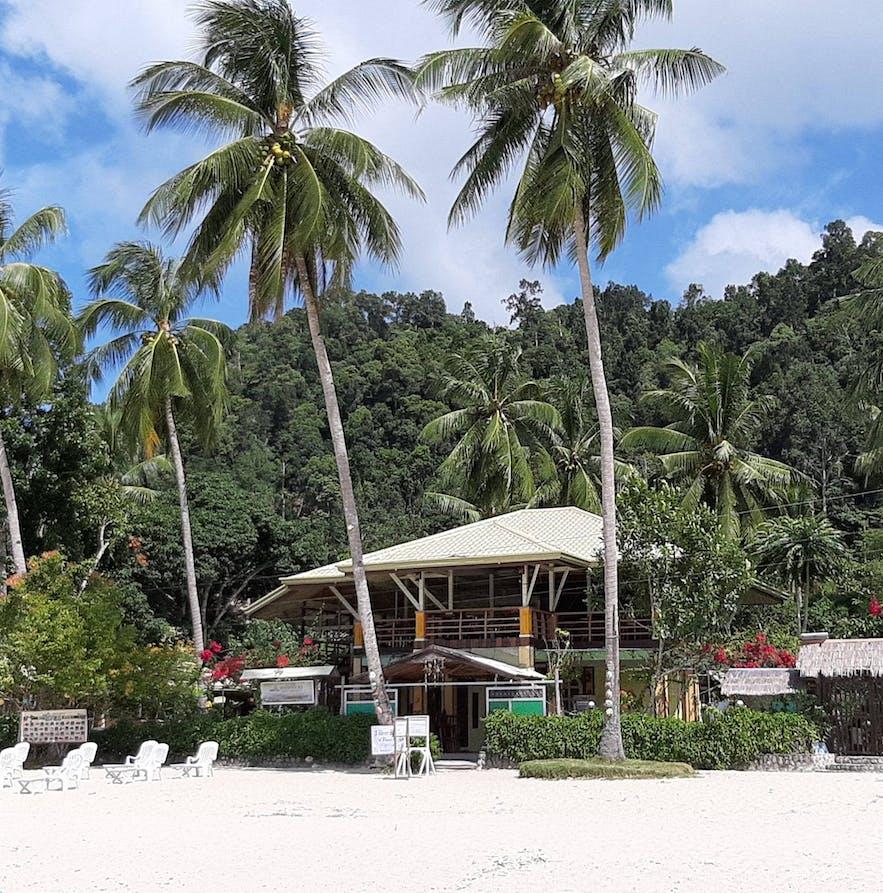 Greenviews Resort's beachfront