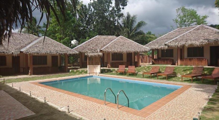 Rubin Resort's poolside