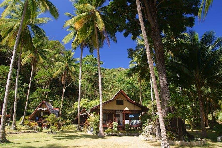 Coconut Garden Island Resort's beachfront cottage