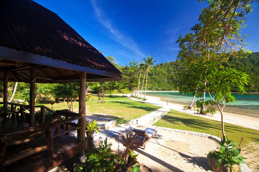 Secret Paradise Resort and Turtle Sanctuary's beachfront